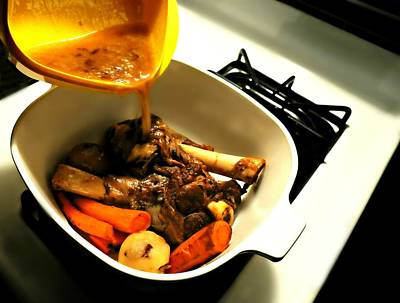 Stew Photograph - With Gravy  by Diana Angstadt
