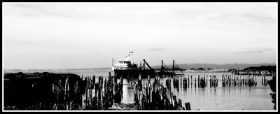 Photograph - With'in The Harbor by Kathy Sampson