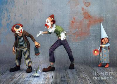 Digital Art - Without Words by Jutta Maria Pusl