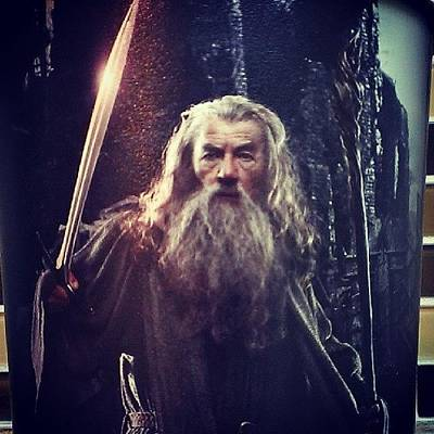 Wizard Photograph - #wizard #gandalf #tolkien #lotr by Gary W Norman