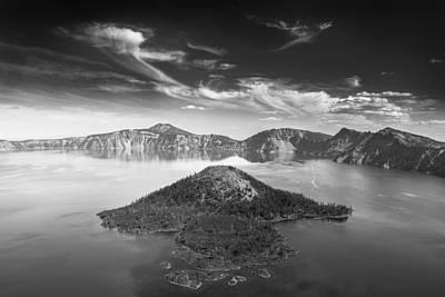 Photograph - Wizard Island by Alexander Kunz