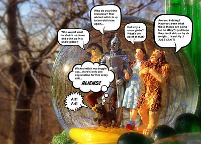 Wizard Of Oz Humor IIi Art Print