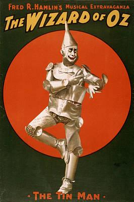 Wizard Of Oz Digital Art - Wizard Of Oz Tin Man  by Studio Artist