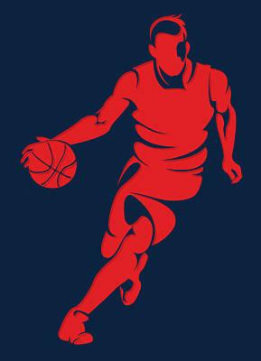Washington Wizards Wall Art - Photograph - Wizards Basketball Player3 by Joe Hamilton