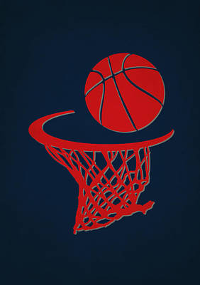 Washington Wizards Wall Art - Photograph - Wizards Team Hoop2 by Joe Hamilton