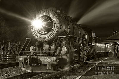 Photograph - Wmsr Engine 734 At The Frostburg Depot by Jeannette Hunt