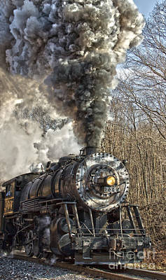 Photograph - Wmsr Engine 734 by Jeannette Hunt