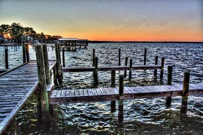 Wolf Bay Sunset Original by Michael Thomas