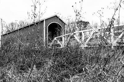 Photograph - Wolf Covered Bridge 2 by Ben Graham
