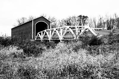 Photograph - Wolf Covered Bridge 3 by Ben Graham