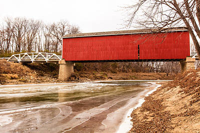 Photograph - Wolf Covered Bridge by Ben Graham