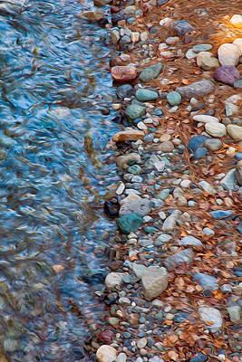 Wolf Creek Downstream Print by Omaste Witkowski