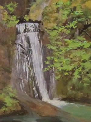 Painting - Wolf Creek Falls by Karen Ilari