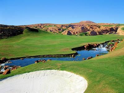 Golf Photograph - Wolf Creek Golf Club Hole #18 by Scott Carda