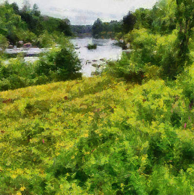 Painting - Wolf River by Michelle Calkins