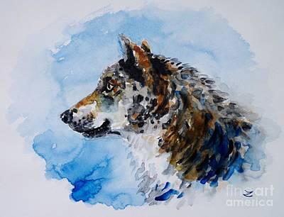 Wolf Original by Zaira Dzhaubaeva