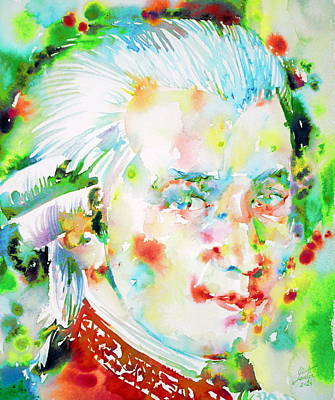 Painting - Wolfgang Amadeus Mozart by Fabrizio Cassetta