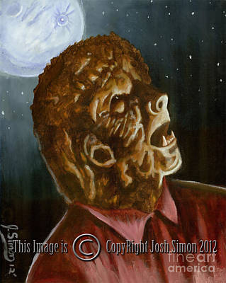 Wolfman By Moonlight Original by Joshua Simon