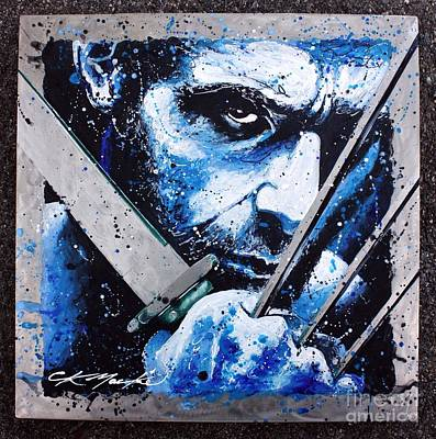 X-men Painting - Wolverine by Chris Mackie