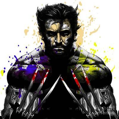 Wolverine Drawing - Wolverine by Jeff Karnick