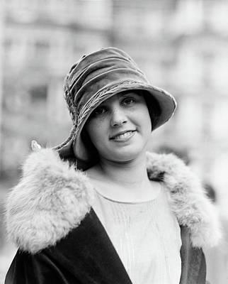 Photograph - Woman, 1923 by Granger