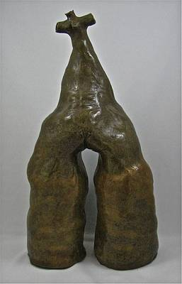 Sculpture - Woman #2 by Mario MJ Perron