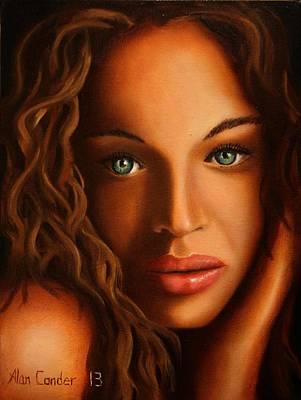 Woman #3 Art Print