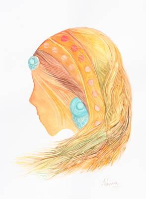 Woman And Beauty Original by Ashima Kaushik