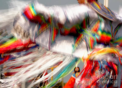 Photograph - Woman Fancy Dancer by Heidi Hermes