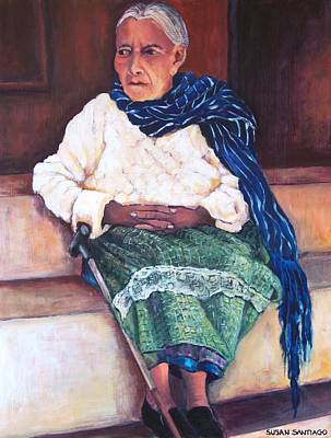 Painting - Woman From Janitzio by Susan Santiago