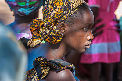 Photograph - Woman From  Keur Simbara Village Senegal by Judith Barath
