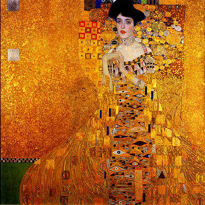 Art Print featuring the painting Woman by Gustav Klimt