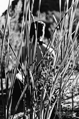 Photograph - Woman In Grass by Scott Sawyer