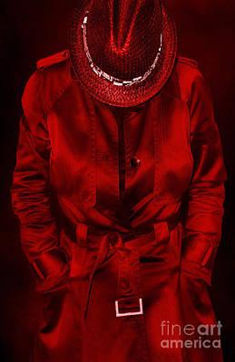 Toxic Digital Art - Woman In Red by Svetlana Sewell