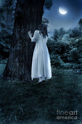 Photograph - Woman In The Moonlight by Jill Battaglia