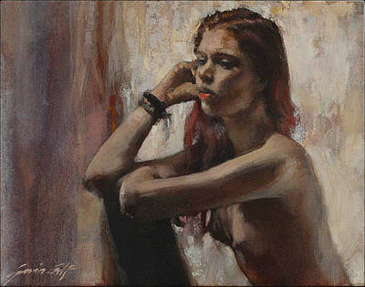 Painting - Woman In Time by Gavin Calf