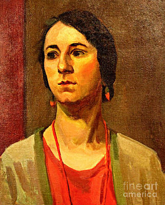 Painting - Woman Of 1929 by Art By Tolpo Collection