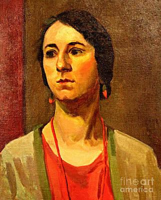Woman Of 1929 Art Print