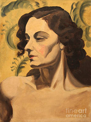 Painting - Woman Of 1938 by Art By Tolpo Collection