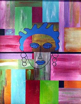 Painting - Woman Of Color by Lew Griffin