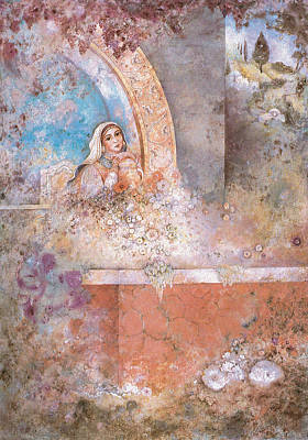 Judaic Painting - Woman Of Valor by Michoel Muchnik