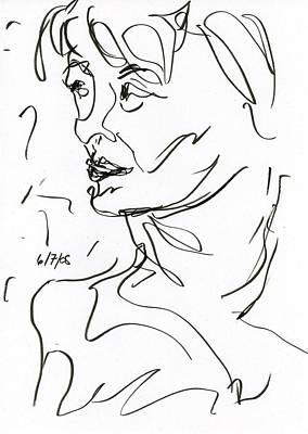 Woman Art Print by Rachel Scott