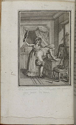 Fornication Photograph - Woman Spanking Bare-bottomed Man by British Library