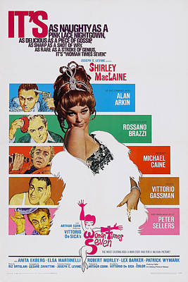 Woman Times Seven, Us Poster, Shirley Art Print by Everett