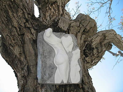 Ceramic Relief Relief - Woman Torso - Cast 1 by Flow Fitzgerald