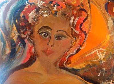 Nurturer Painting - Woman We Need You  by Judith Desrosiers