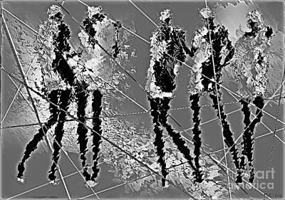 Digital Art - Women 509-11-13 Marucii by Marek Lutek