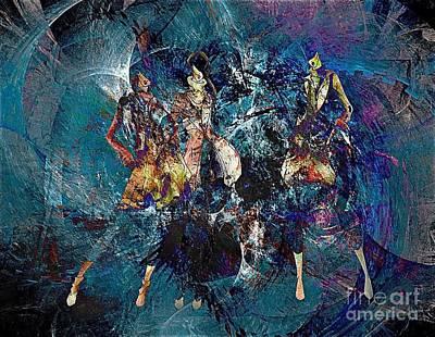 Digital Art - Women 548-11-13 Marucii  by Marek Lutek