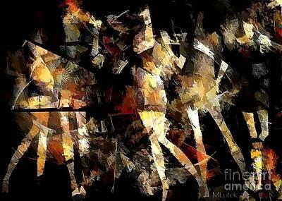 Digital Art - Women 566-11-13 Marucii by Marek Lutek