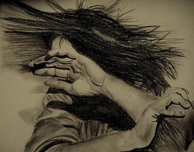 Women Abuse Art Print by Umme Kulsoom